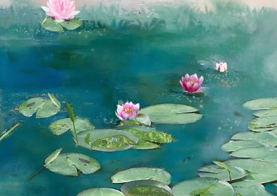 Water Lilies by Michelle Ciarlo-Hayes