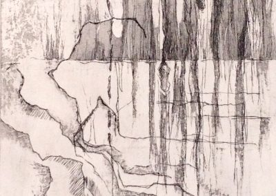 Rebecca Schultz, Prince Edward County etching