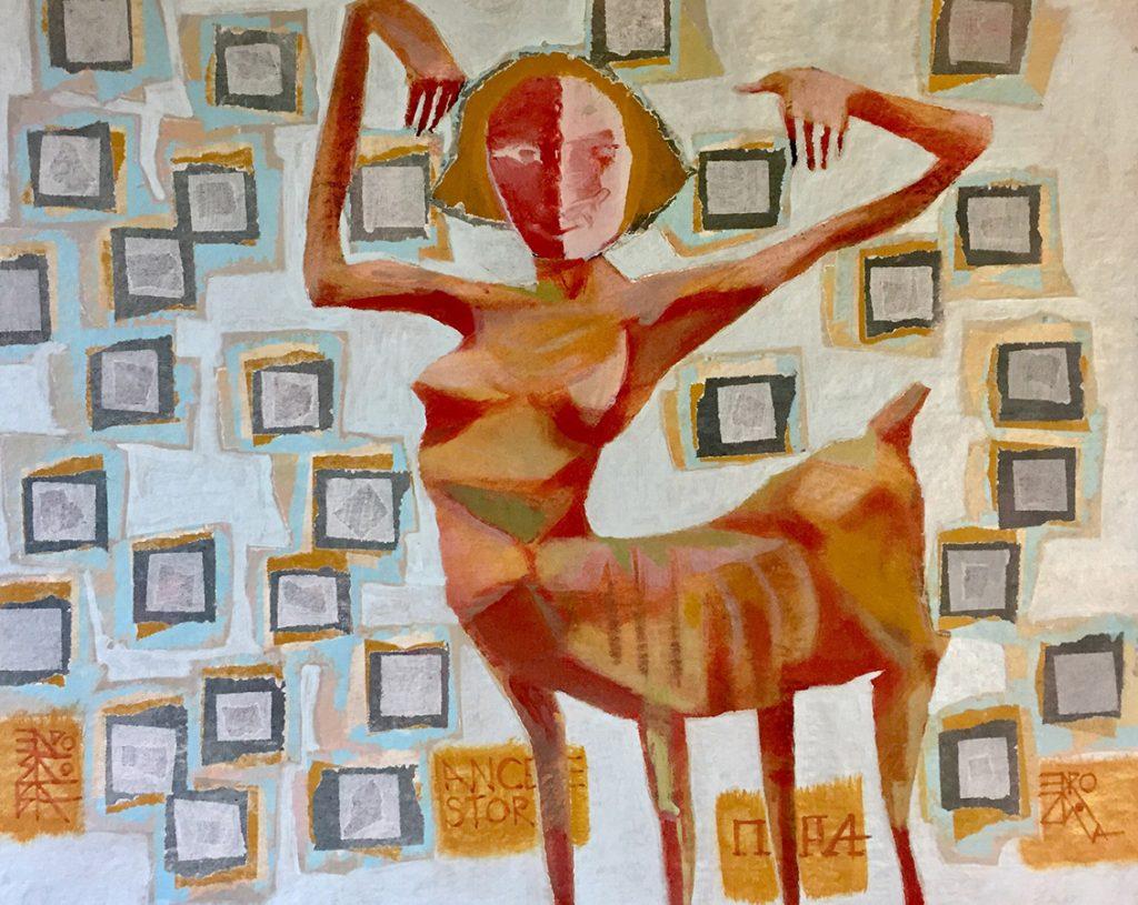 Acrylic on Canvas, Elena Drozdova, Painting 7