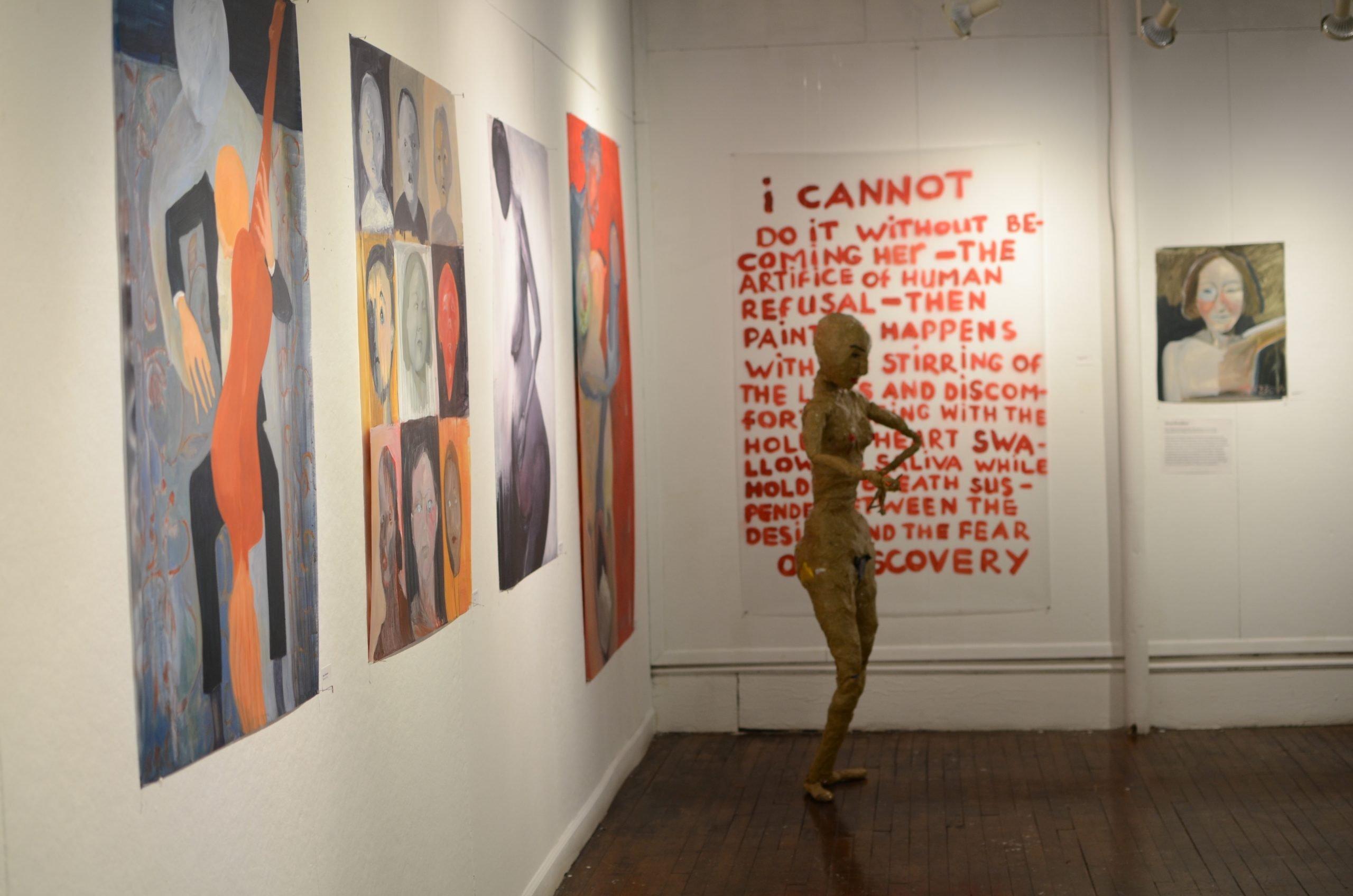 Elena Drozdova, Process Exhibition Artessa Alliance