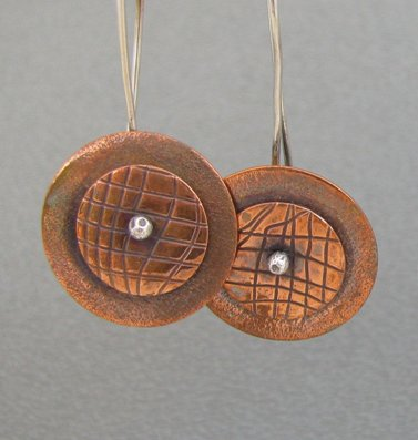 Copper Disk, Julie Mann