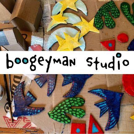 Glynis Frost Raisch Boogeyman Studios Logo