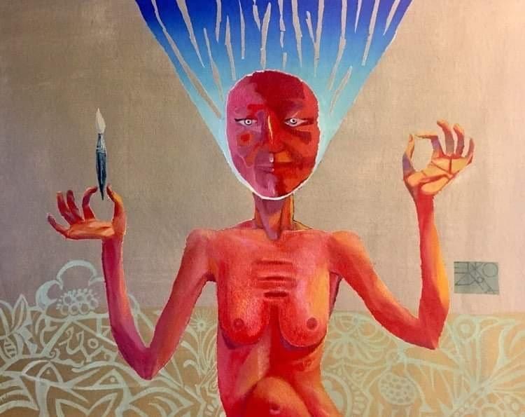 Elena Drozdova, Painting 3