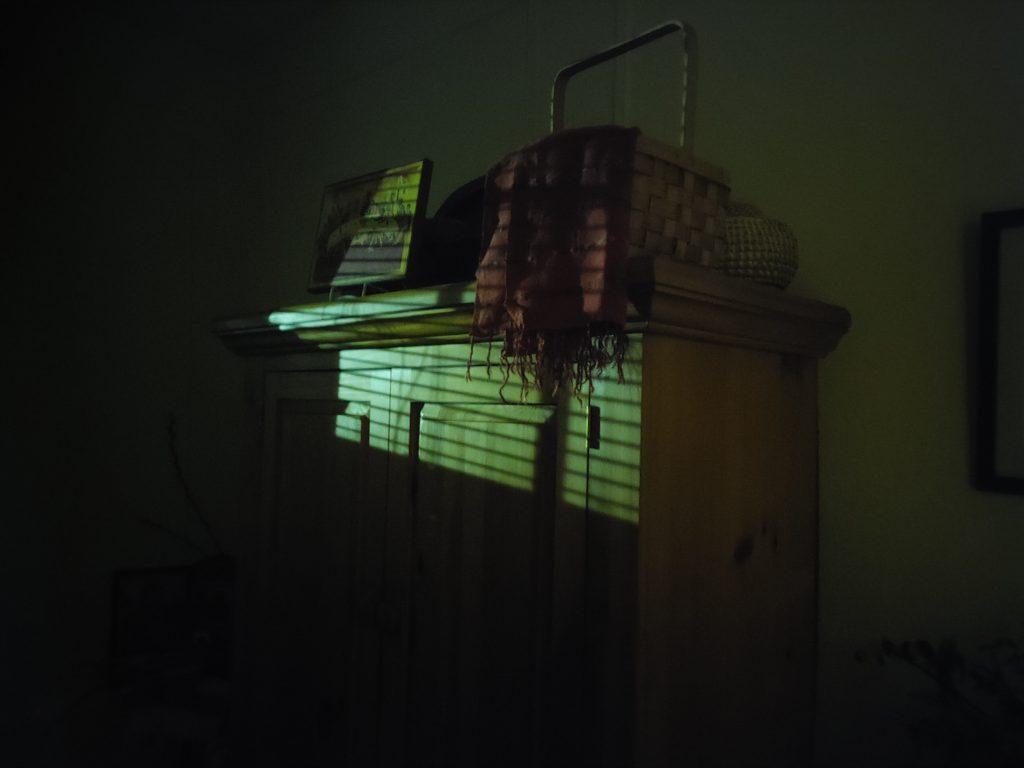 Nathalie Borozny, COVID Insomnia: The Dining Room at 4:00 am