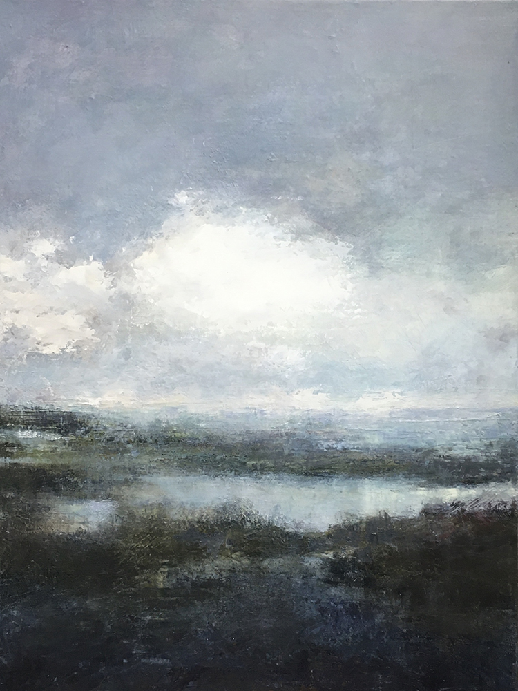 "Colleen Hammond, Horseneck Beach, oilon canvas, 16"" x 20"""