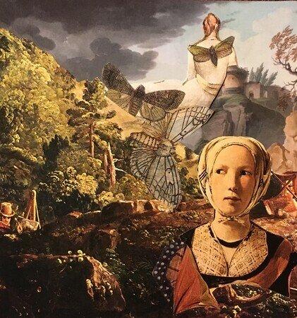 "Precursor, Colleen Hammond, Collage 5.5"" in x 5.25"""